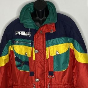 Vintage Phenix Sports Parka Coat Mens L Oversize